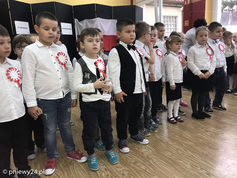 Święto Niepodległości wgronie przedszkolaków