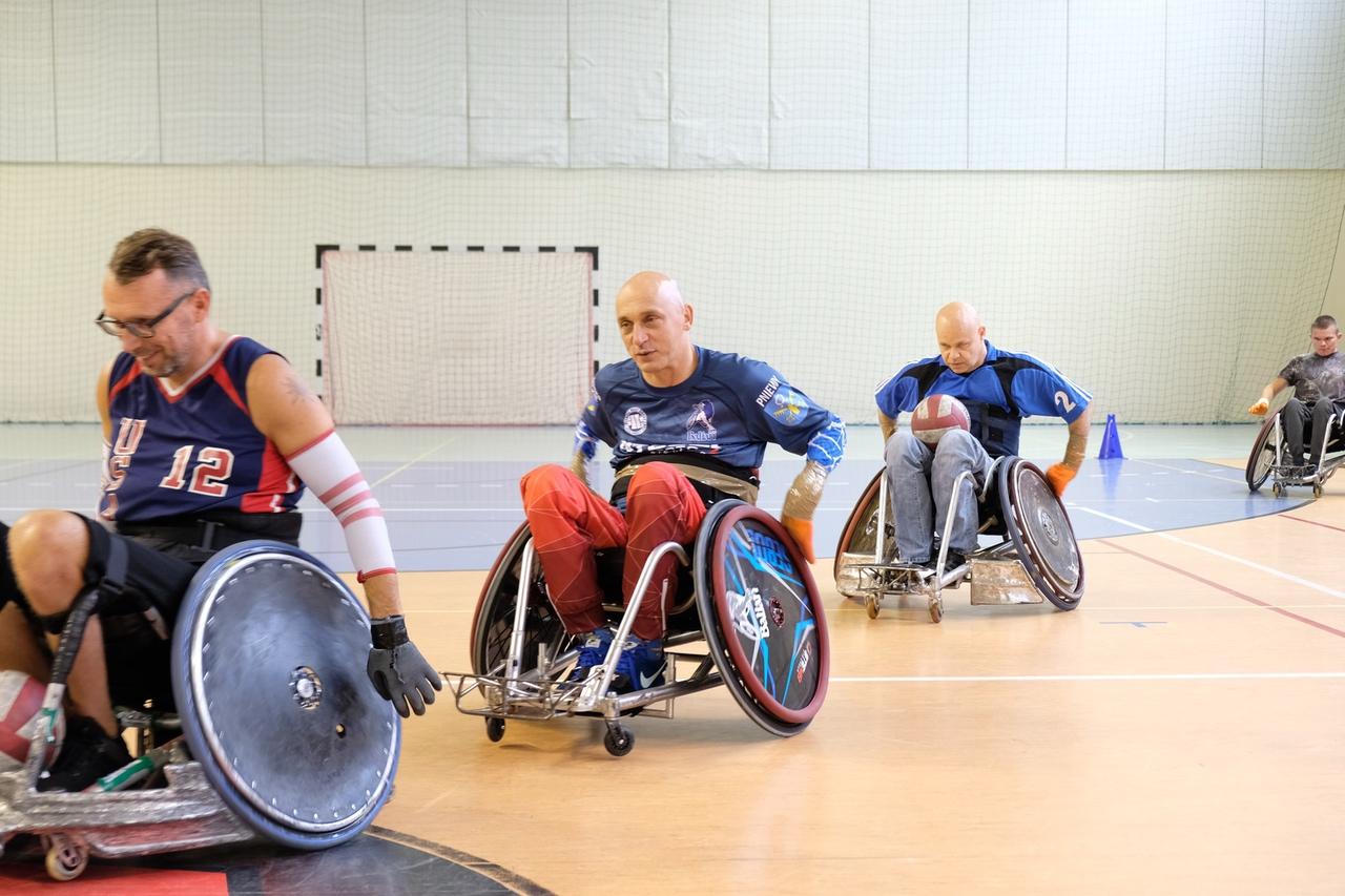 Rugby nawózkach