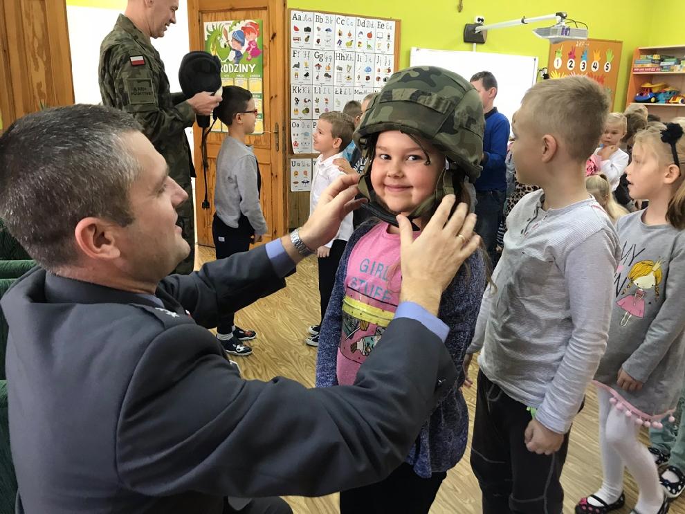 Spotkanie zżołnierzem
