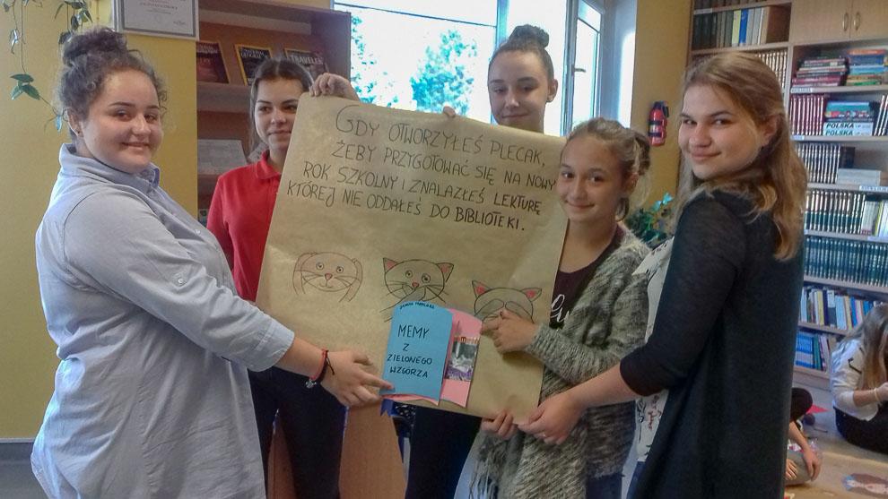 Współpraca szkolnych bibliotek